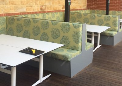 Commercial restaurant fit-out done for a country South Australia client