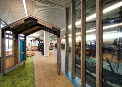 On-site working on this Adelaide city school's customised library