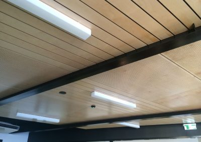 We worked on the suspended ceilings in this commercial building in Port Adelaide