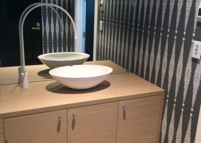 We designed and installed the vanity in this client's bathroom in Northgate - a suburb of Adelaide